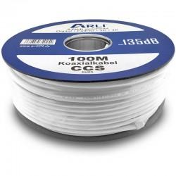 100 m Câble Coaxial 135 dB...