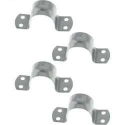4 Colliers de Mât ⌀ 48/50 mm