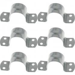 6 Colliers de Mât ⌀ 48/50 mm