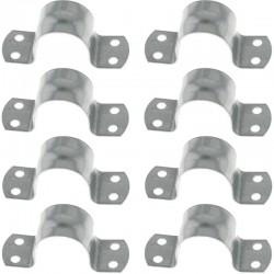 8 Colliers de Mât ⌀ 48/50 mm