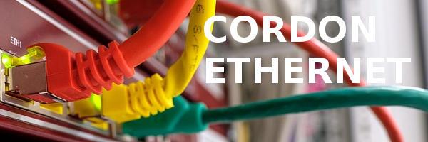 Cables réseaux ethernet